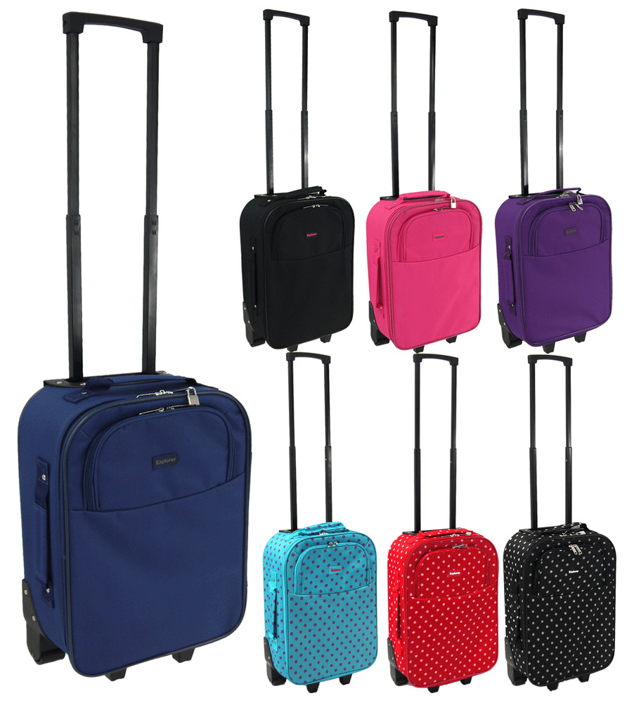 lightweight cabin approved wheeled case hand luggage small. Black Bedroom Furniture Sets. Home Design Ideas