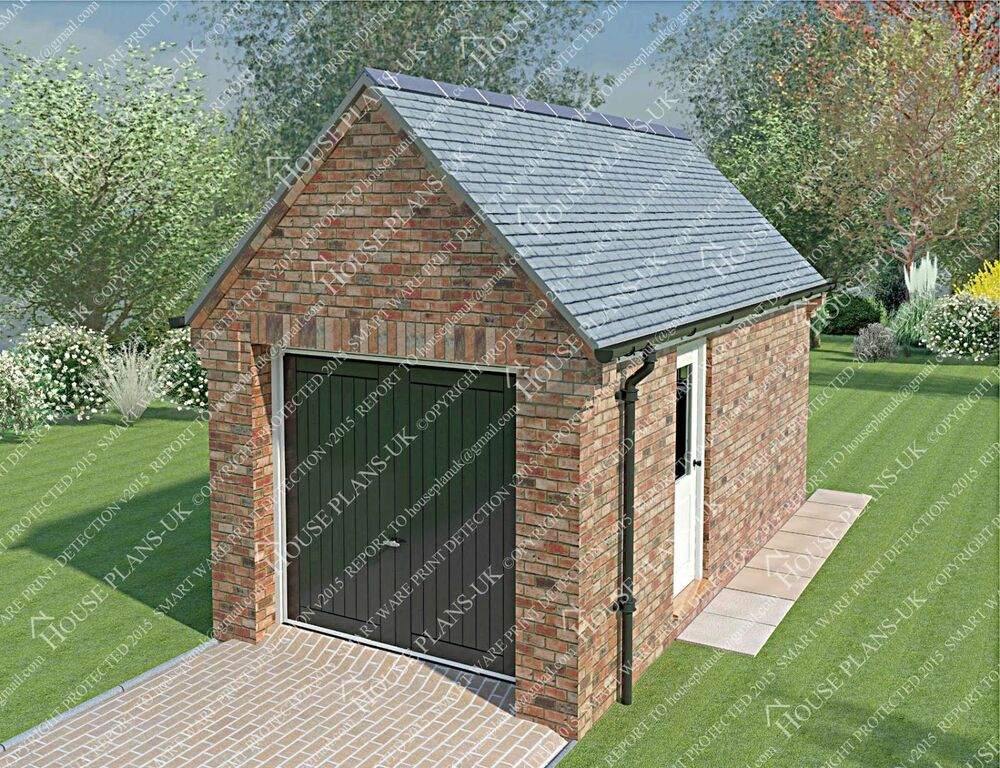Garage plans house plans cad images extensions ebay for Garage extension designs