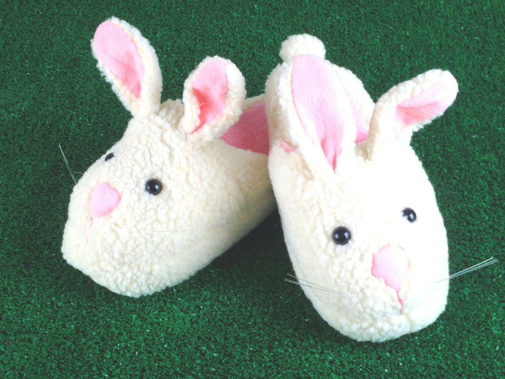 White Bunny Slippers for Women You can't help but love these classic, white bunny slippers. They make you smile and keep you feet nice and warm all at the same time. You will love the long ears, white whiskers, and pink noses on eac /5(9).