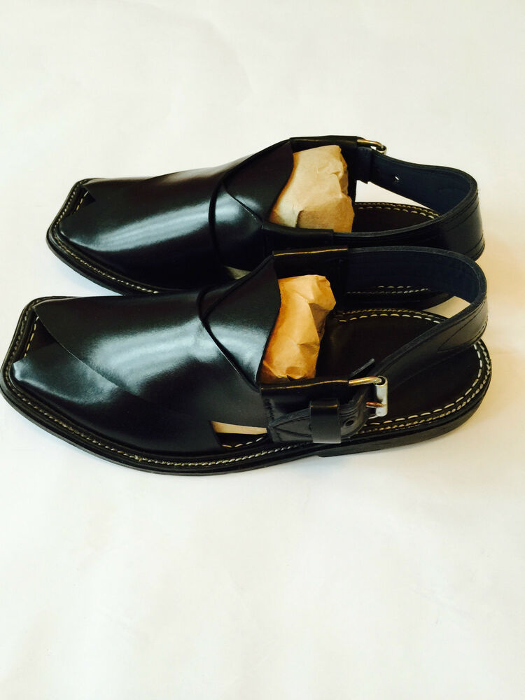 Authentic Mens Afghan Shoes Authentic Leather Sandals ...
