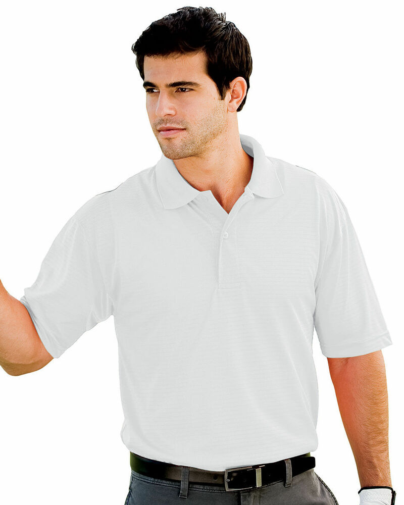 Willow Pointe Men 39 S Moisture Wicking Two Button Placket