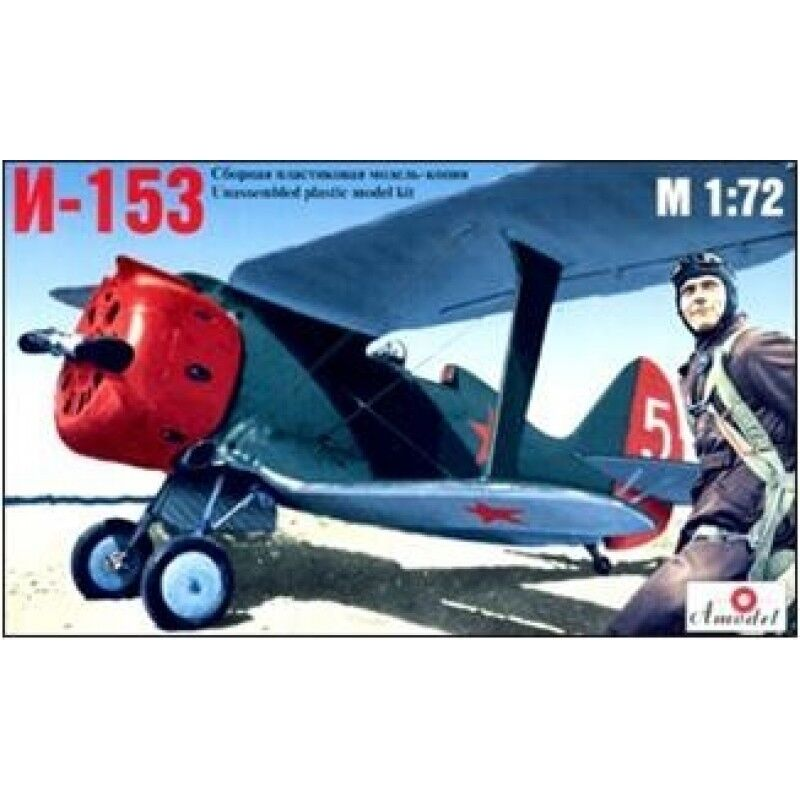 i 153 soviet fighter polikarpov design bureau 1 72 amodel 7208 ebay. Black Bedroom Furniture Sets. Home Design Ideas