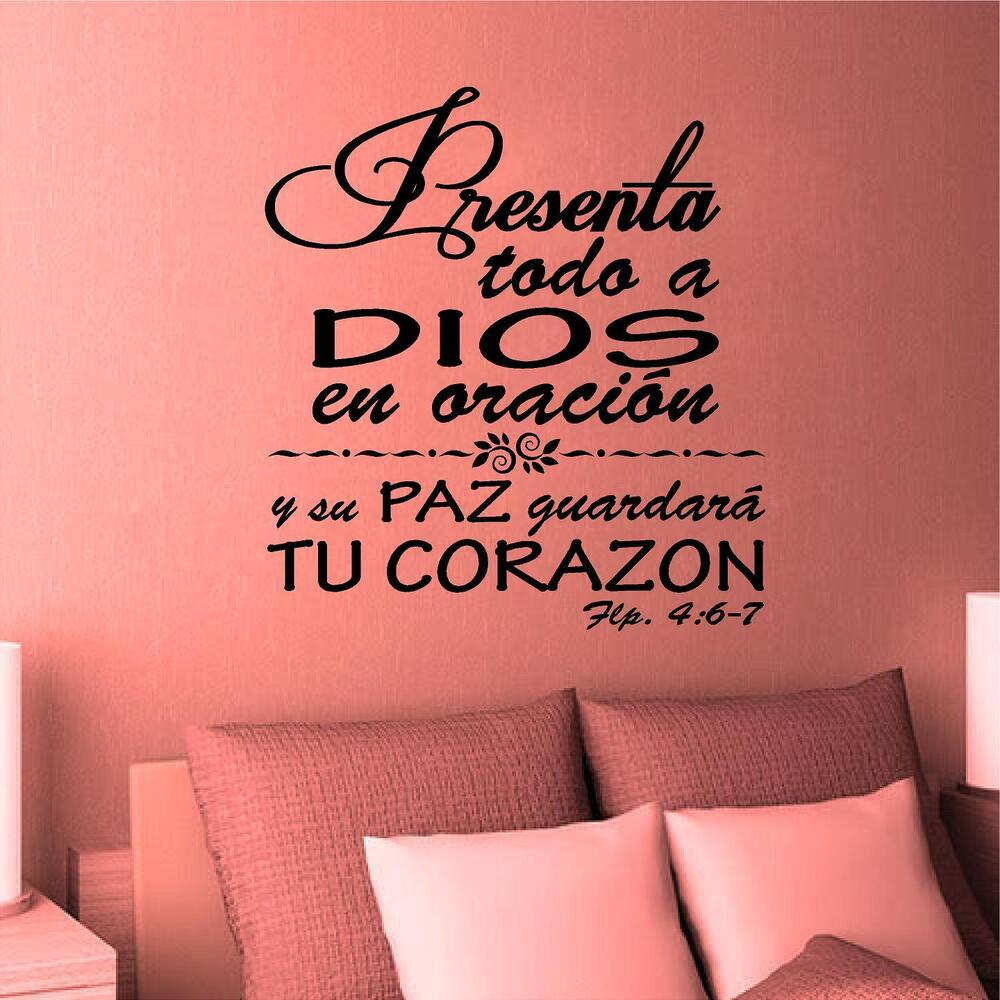 Wall decal inspirational wall decal vinilos decorativos for Vinilos decorativos