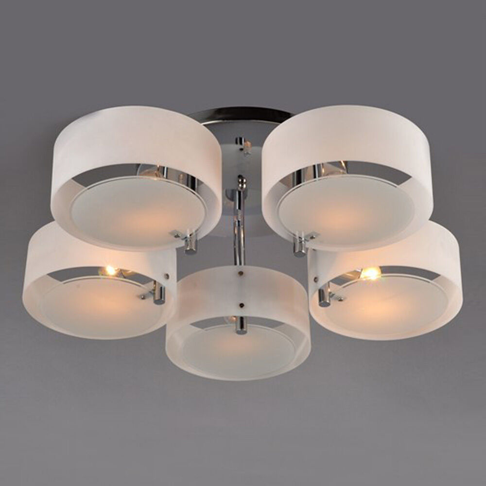 Modern Crystal Diy Ceiling Light Pendant Flush Lamp