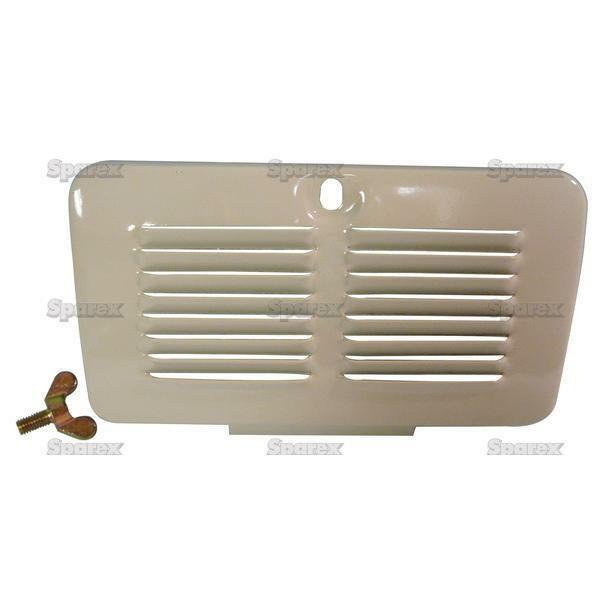 Ford 8n Air Cleaner : Ford n tractor air cleaner filter door cover grille grill