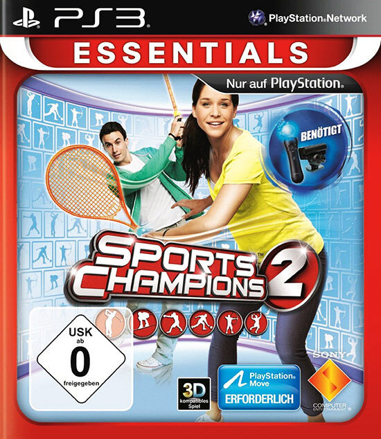 Sports Games For Ps3 : Sports champions ps move game in excellent condition
