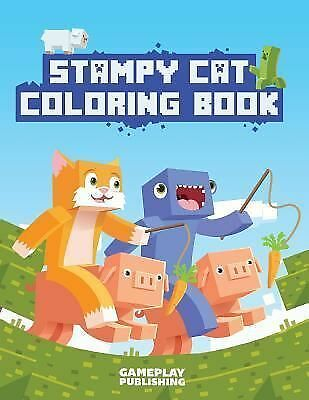 Stampy Cat Coloring Book Stampylongnose Adventures By