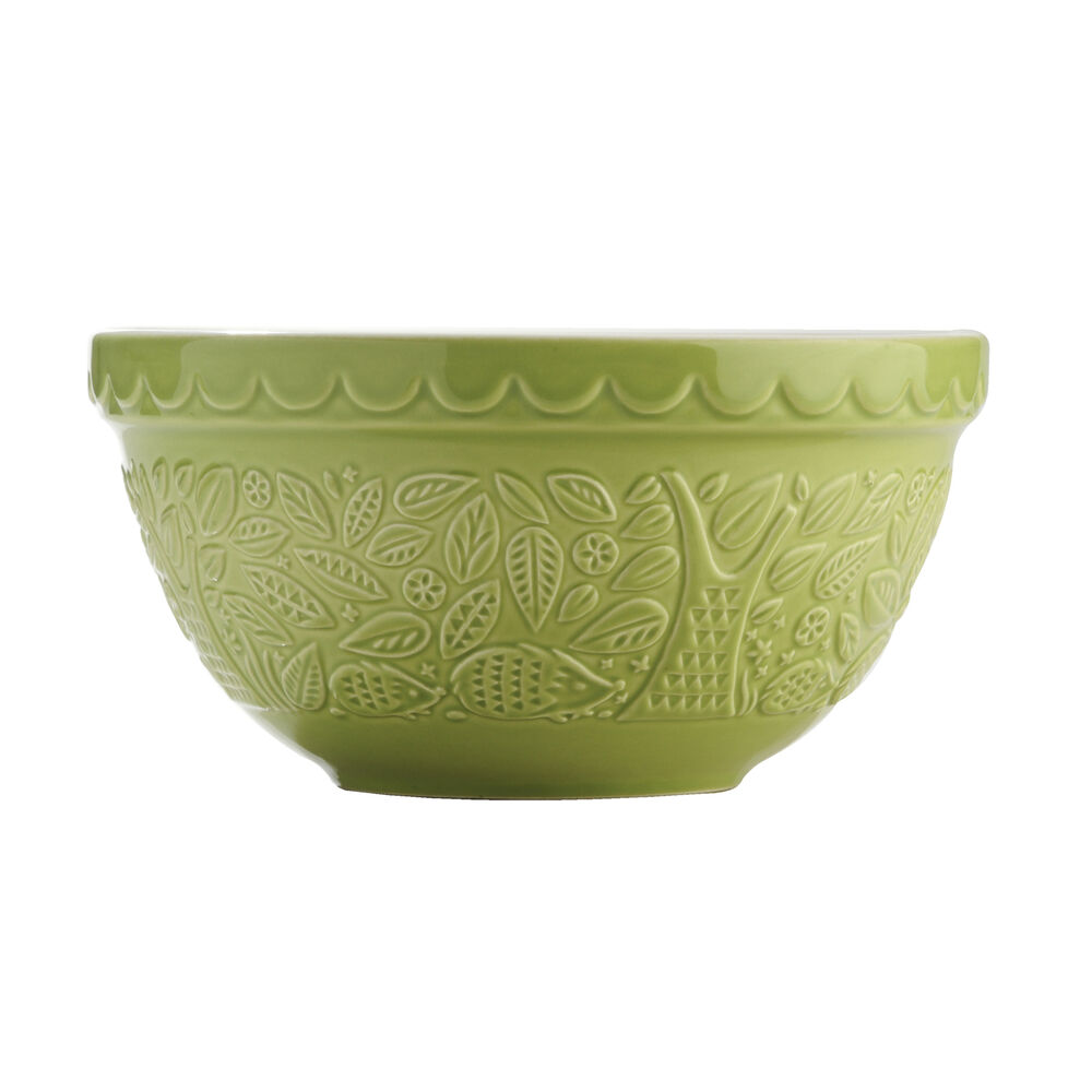 Mason Cash In The Forest 21cm Hedgehog Green Mixing Bowl