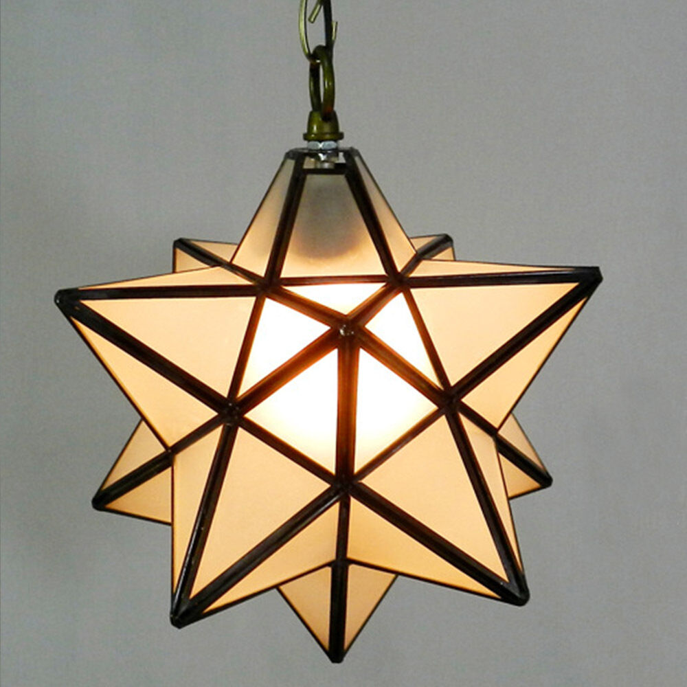 vega star glass ceiling lantern pendant light fitting lamp. Black Bedroom Furniture Sets. Home Design Ideas