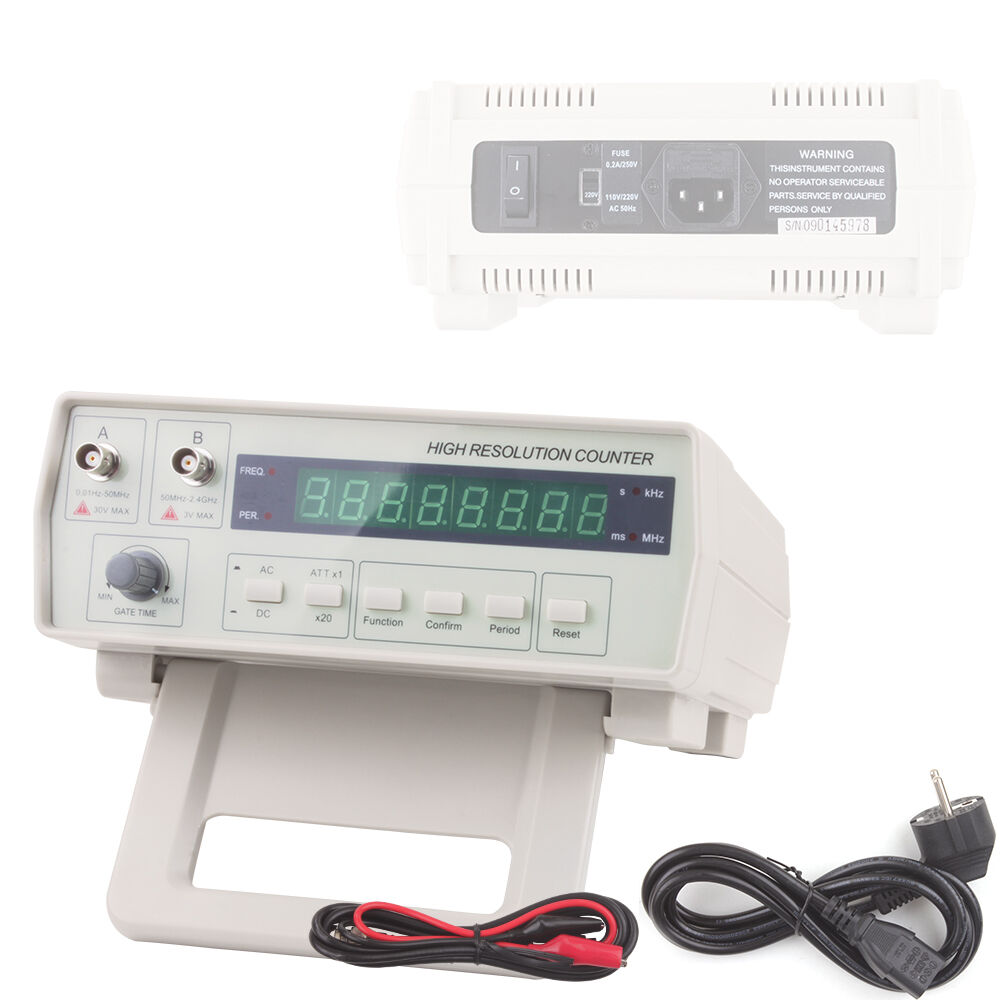 High Frequency Meter : New vc precision radio frequency counter rf meter