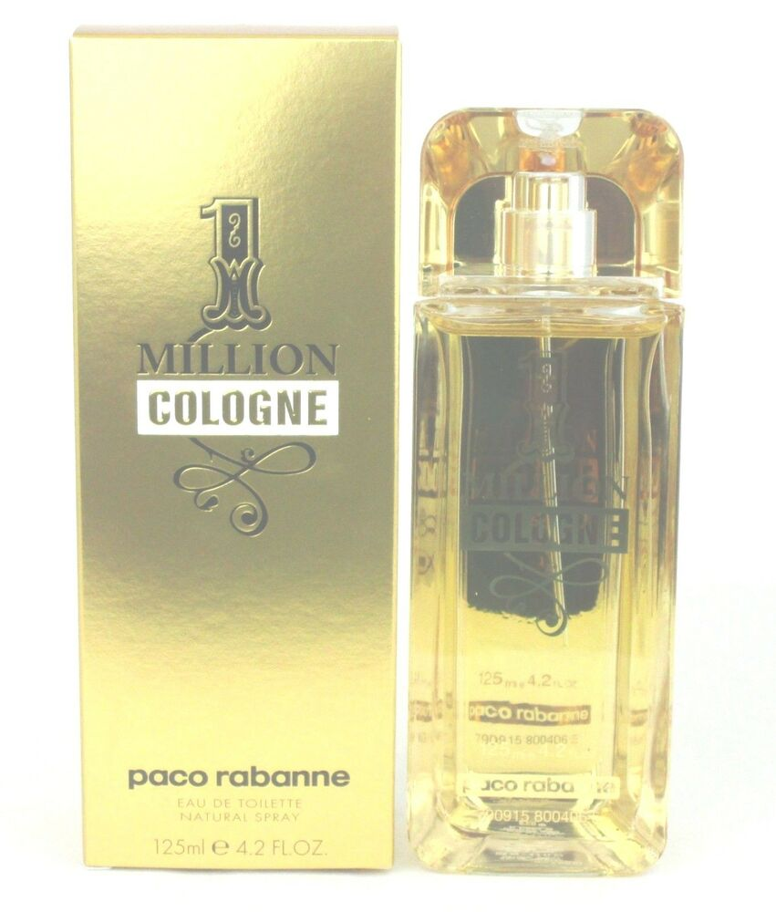 1 million cologne by paco rabanne 4 2 oz eau de toilette. Black Bedroom Furniture Sets. Home Design Ideas