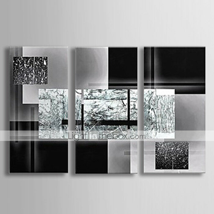 Oil Paint Wall Design : Pieces large modern hand painted art oil painting wall