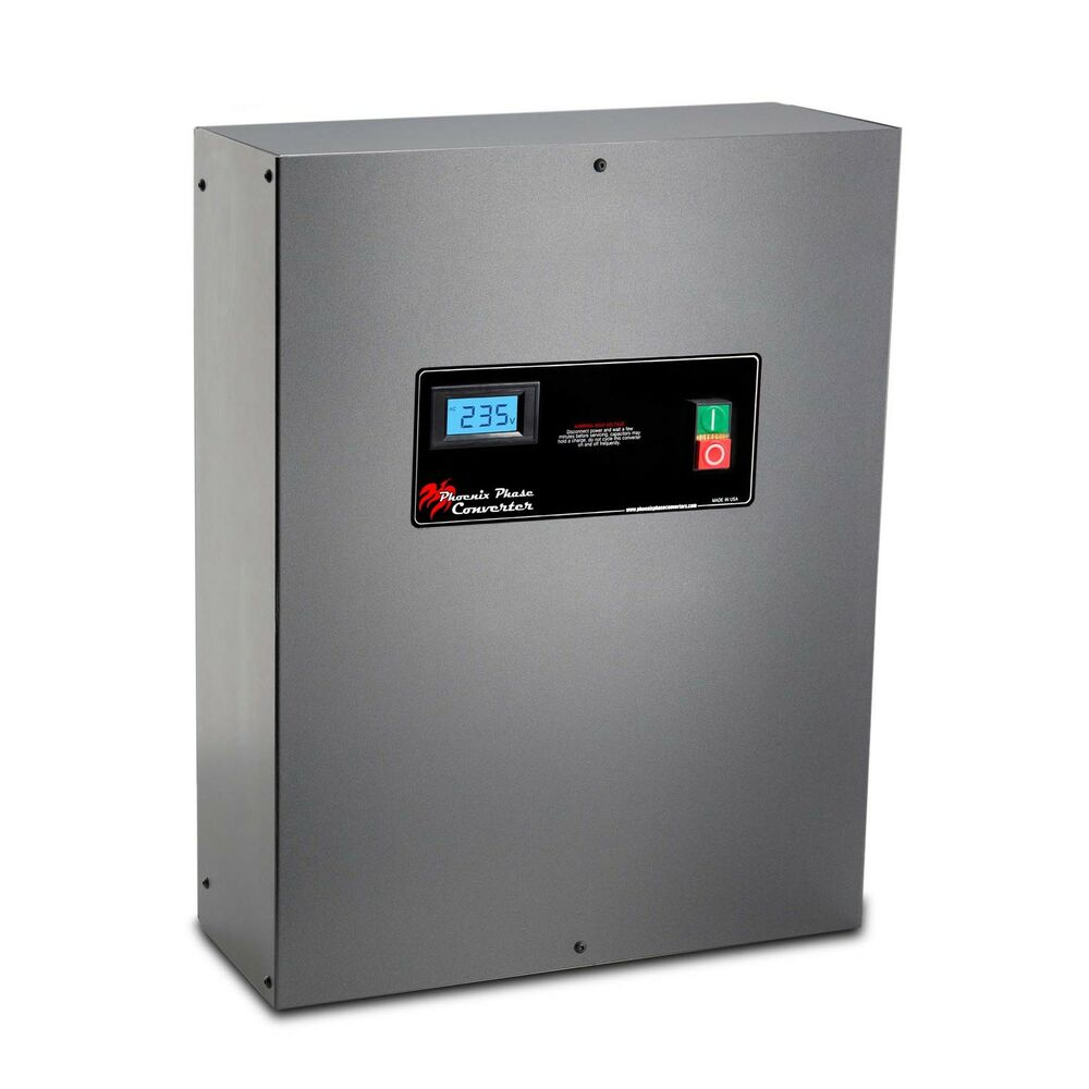 Rotary Phase Converter Panel