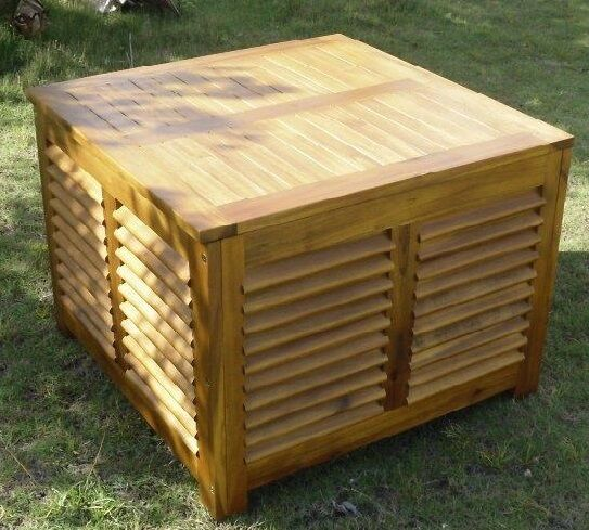 Outdoor Indoor Solid Wood Coffee Table With Storage Brand
