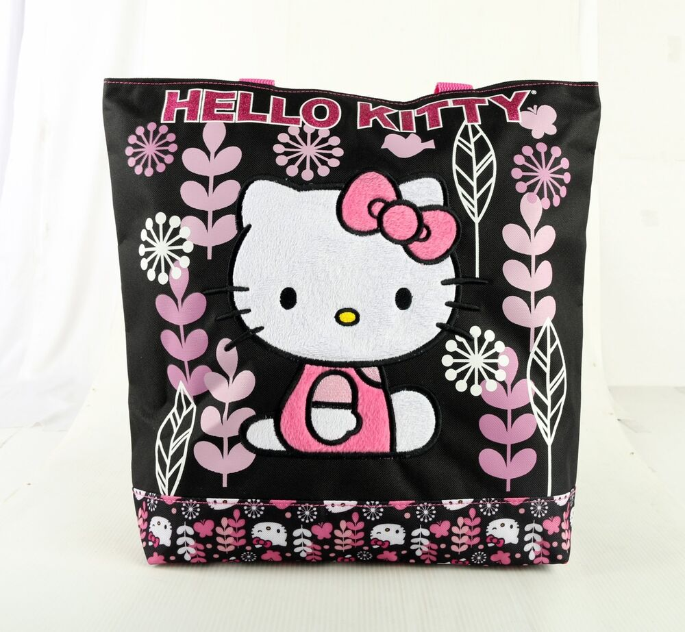 Cool Hello Kitty Messenger Bags Children39s School Bag Canvas Satchel Bags