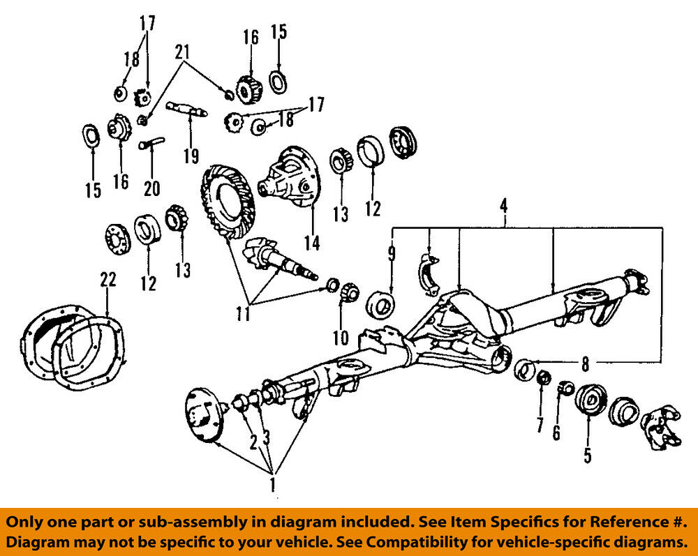 Ford Oem Rear Differential