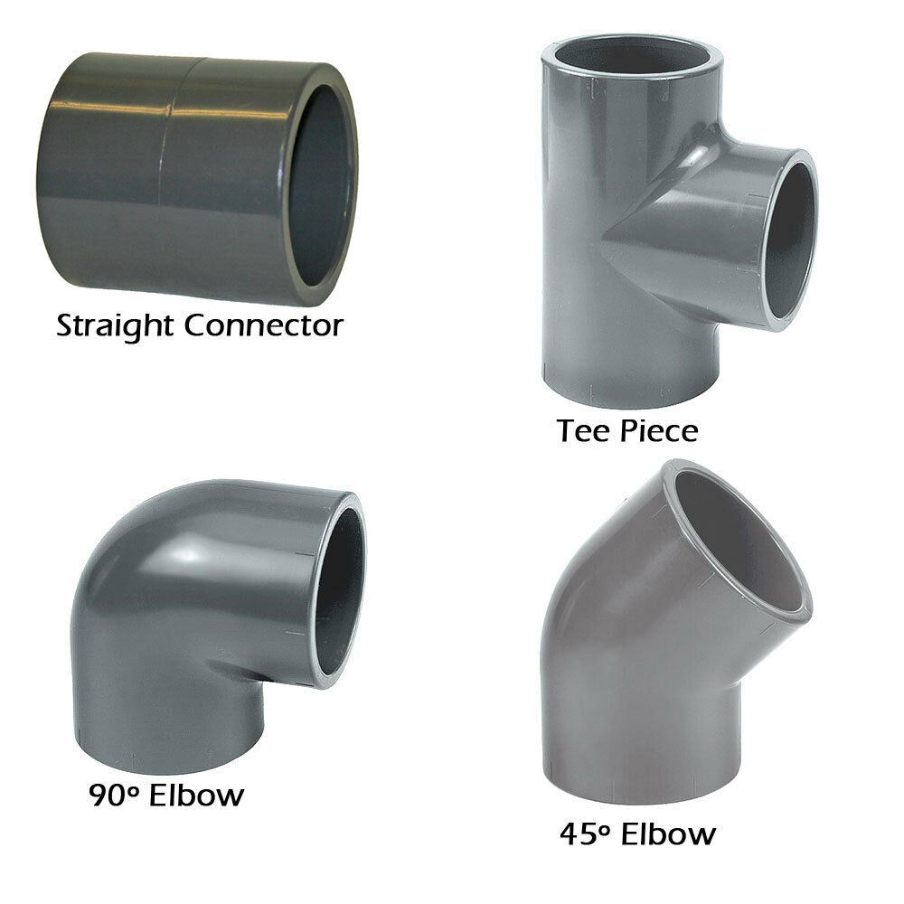 Abs solvent weld pipe fittings glue cement black mm