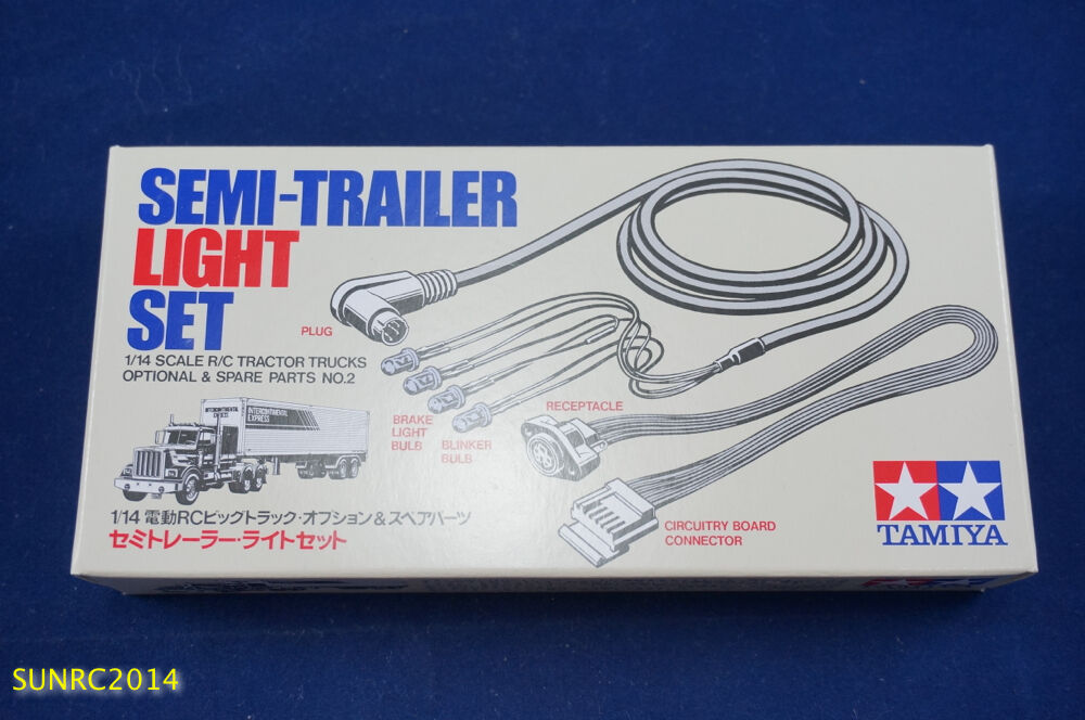 Semi Tractor Trailer Helping Inspect Lights : Tamiya rc semi trailer light set tractor truck
