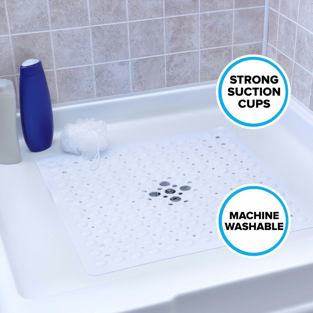 Round Shower Mat With Drain Hole