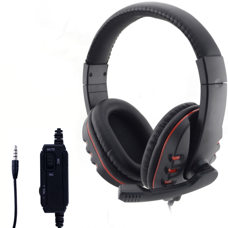 neu gaming kopfh rer headset f r ps4 ps3 xbox360 pc hi. Black Bedroom Furniture Sets. Home Design Ideas