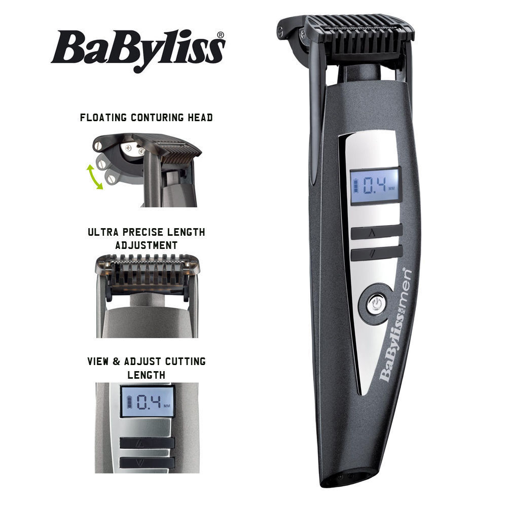 babyliss for men i stubble beard trimmer shaver 7895u ebay. Black Bedroom Furniture Sets. Home Design Ideas