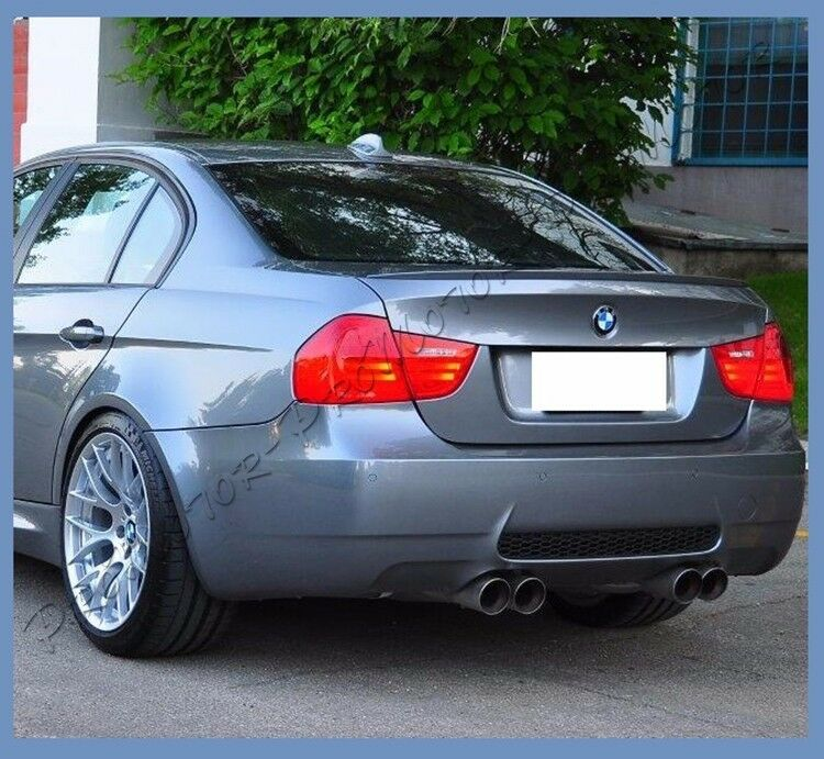 M3 Look Rear Spoiler Lip For 06 11 Bmw E90 Sedan 328i 325i