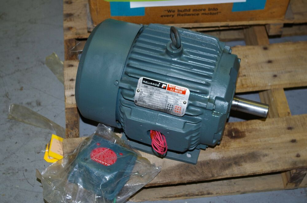 Reliance 1 5hp duty master ac motor p18g431h 230 460vac for Duty master ac motor reliance electric