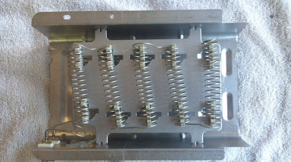New dryer heating element coil whirlpool kenmore maytag roper dryer part 279838 ebay - Replace whirlpool dryer heating element ...