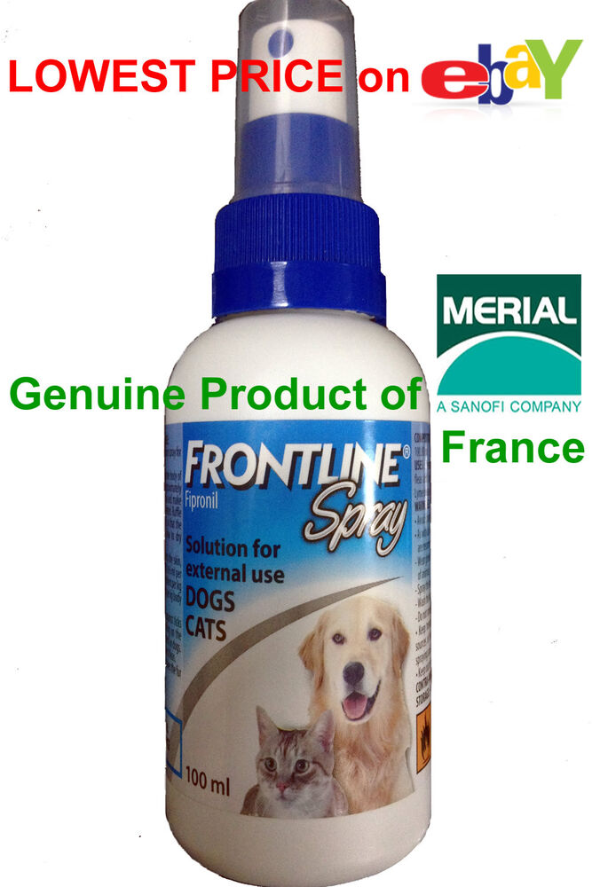 Frontline Plus Spray For Cats And Dogs