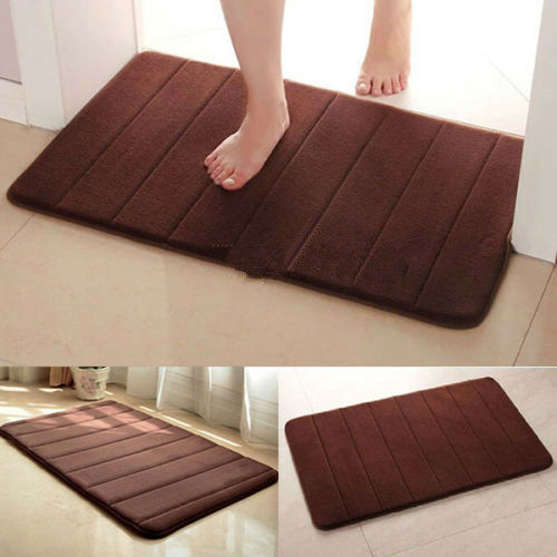 bath mat 40 60 absorbent slip resistant pad bathroom bath mats bh