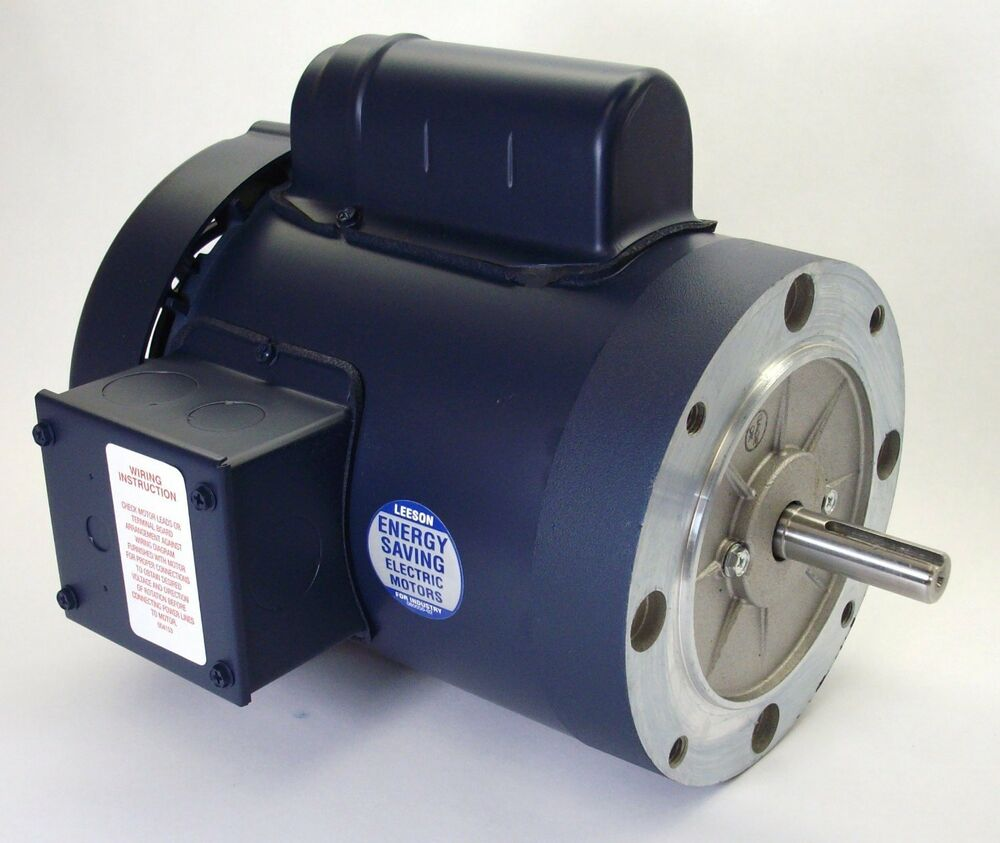 1 5 hp 3450 rpm 143tc frame tefc 115 208 230 volts leeson Motor 1 5 hp