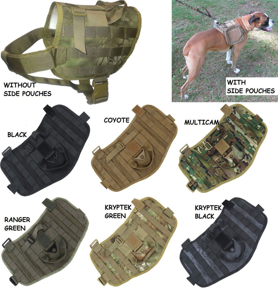 Triden 9 also Id414 moreover Hunter together with K9 Jump Bag as well 161832516317. on tactical k9 harness for dogs