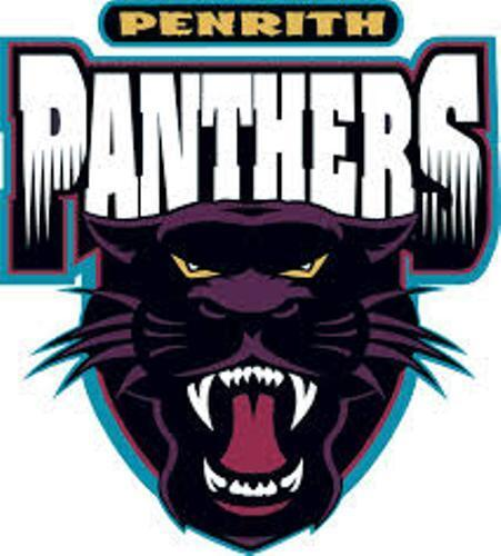 10 pack penrith panthers nrl old logo mega spot car decal sticker boat large ebay