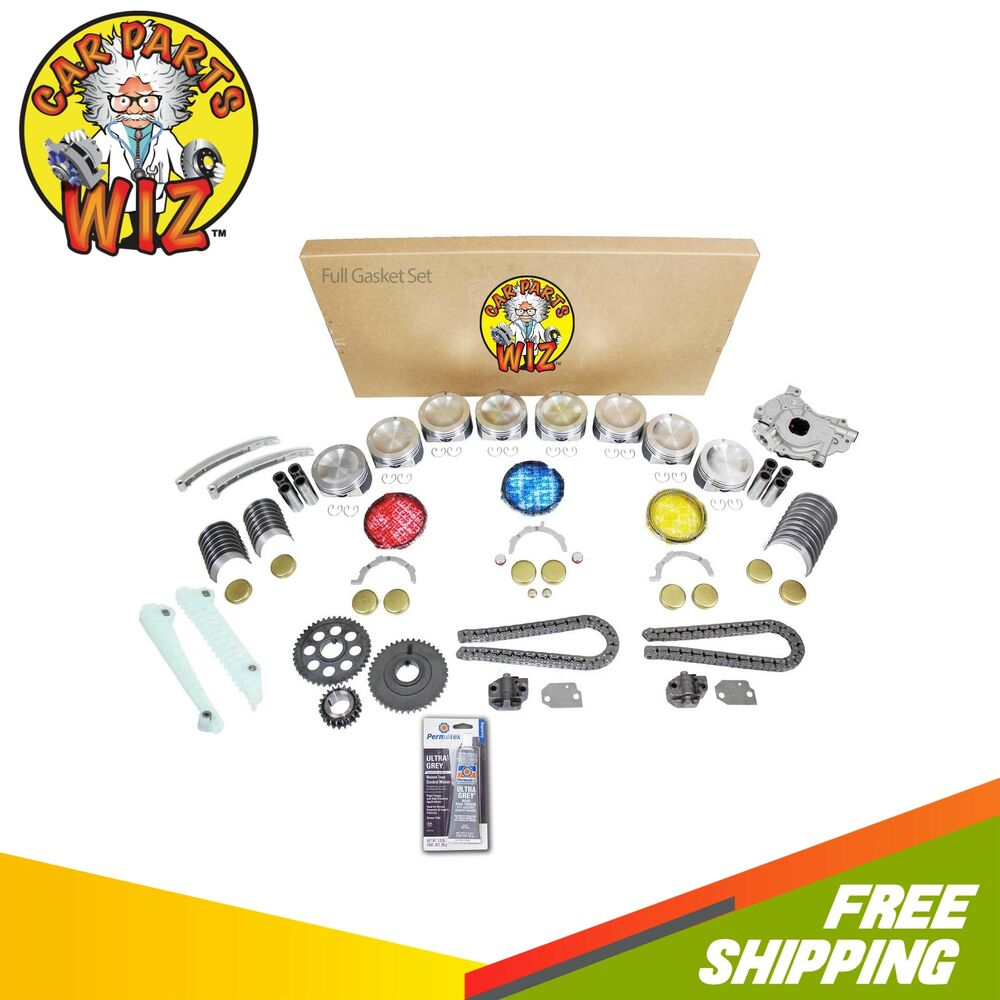 Ford F 150 2000 Remanufactured Complete: Engine Rebuild Kit Fits 97-99 Ford E-150 Expedition F-150