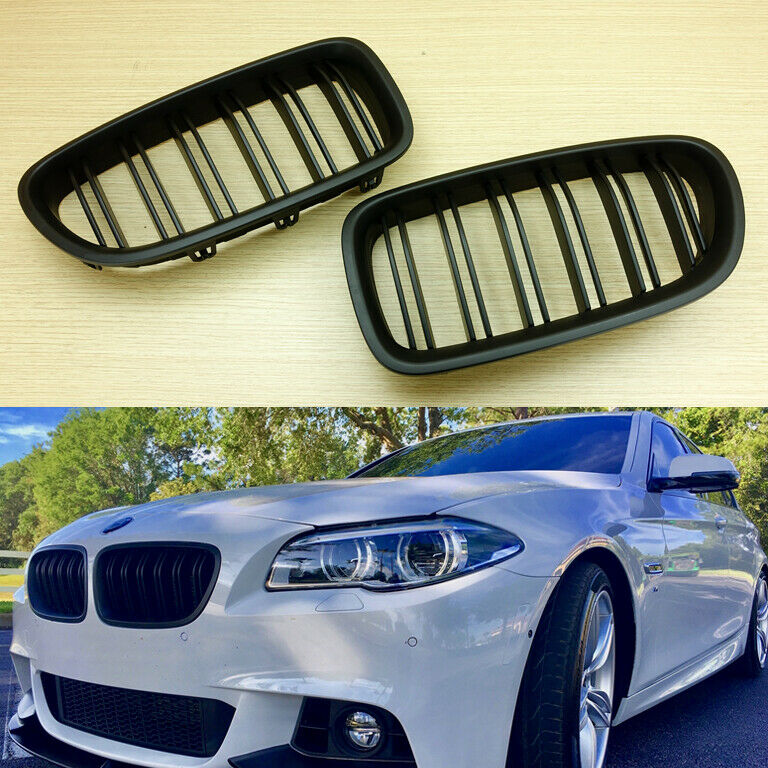 Matte Black M5 Look Front Grille Grill For 2011-2016 BMW