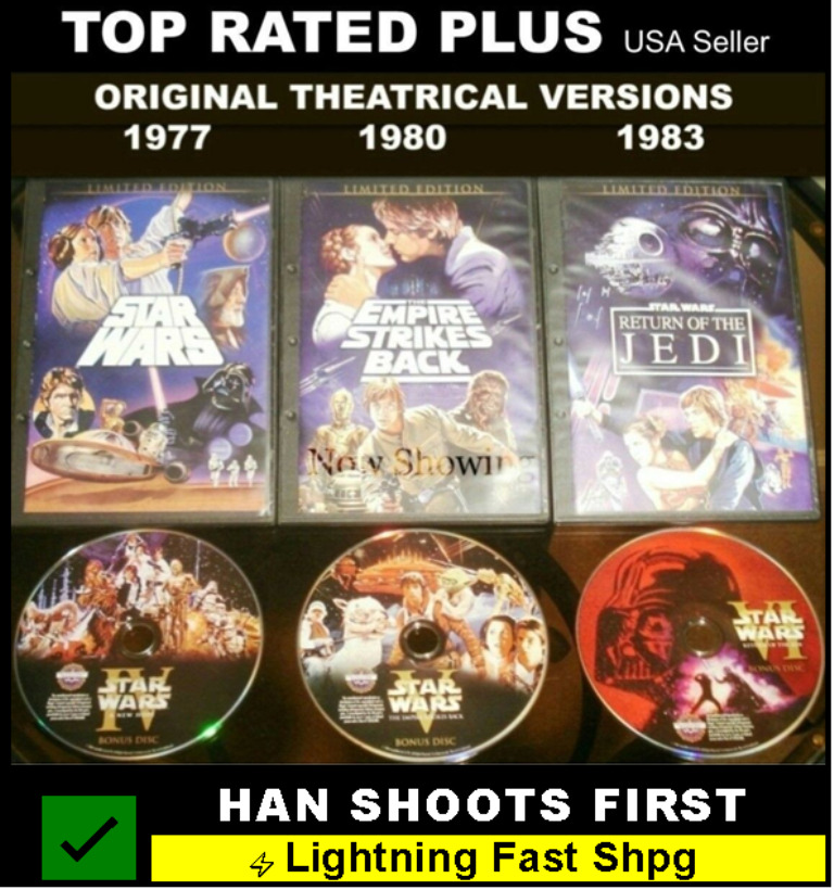 a comparison of original and prequel trilogy of star wars News and discussion surrounding everything star wars, from 1976 to today particularly focused on preserving the original trilogy (episodes iv through vi) for future generations.