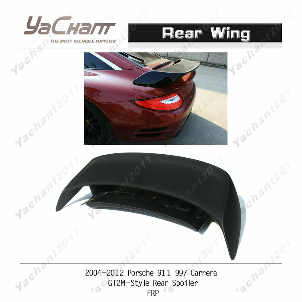 Sell My Truck >> FRP Rear Spoiler Wing Blade With FRP Trunk For 05-11 Porsche 911 997 CarreraGT2M | eBay