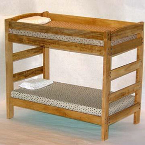 Twin Over Twin Bunk Bed Furniture Woodworking Plans, Do It ...