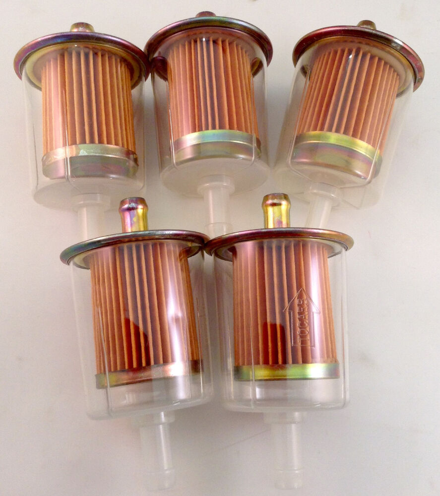 5 Fuel Filters Industrial High Performance Universal