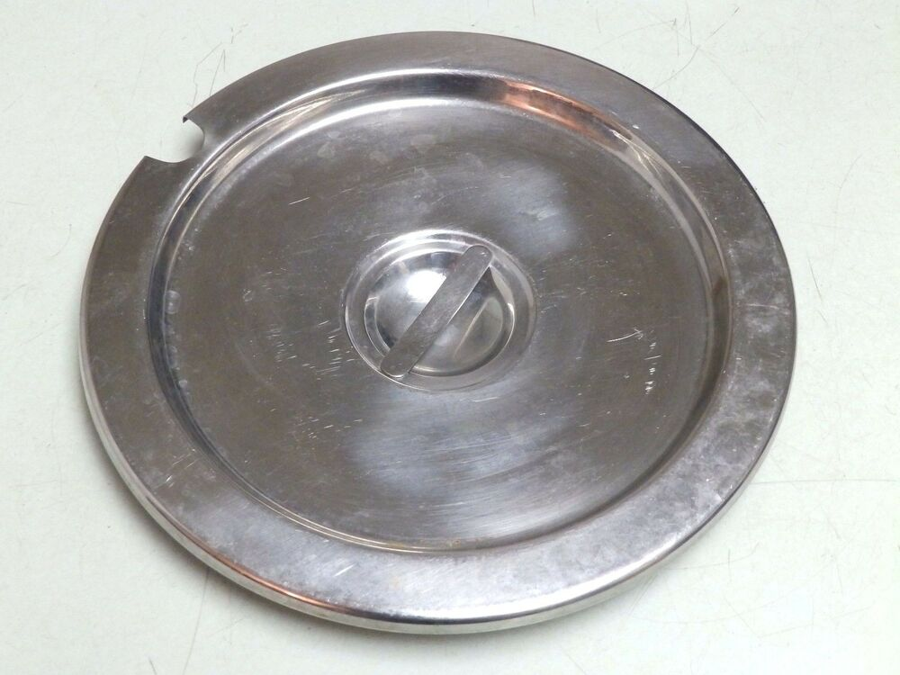 11 1 2 Round Stainless Steel Ss Buffet Steam Table Soup