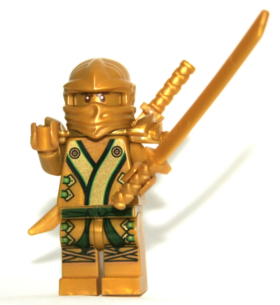 Lego ninjago ninja 70503 70505 lloyd the golden ninja with - Lego ninjago ninja ...