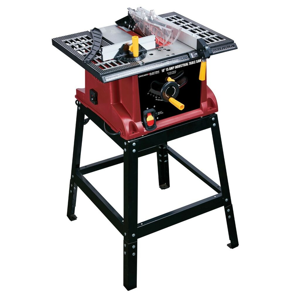 10 13 amp industrial bench table saw ebay for 10 table saws