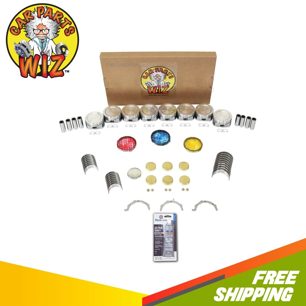 Ford F 150 2000 Remanufactured Complete: Engine Rebuild Kit Fits 00-04 Ford F-150 Lightning 5.4L V8