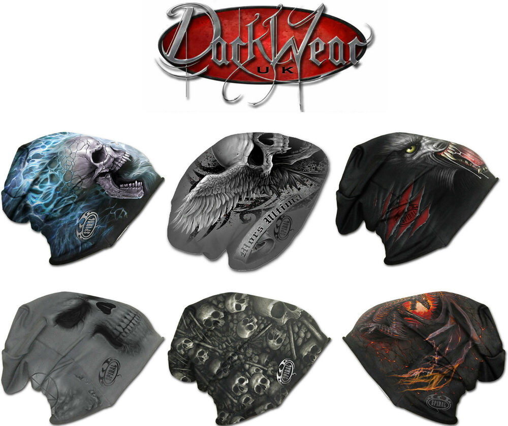Home clothing mens clothing dragon furnace longsleeve t - Spiral Direct Light Cotton Beanies Black Music Skull Rock Metal Dragon Biker Hat Ebay