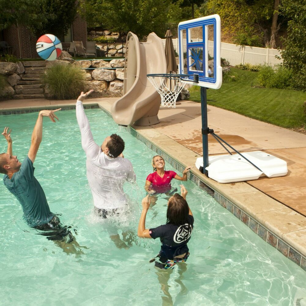 Poolside Basketball Goal Target All Basketball Scores Info