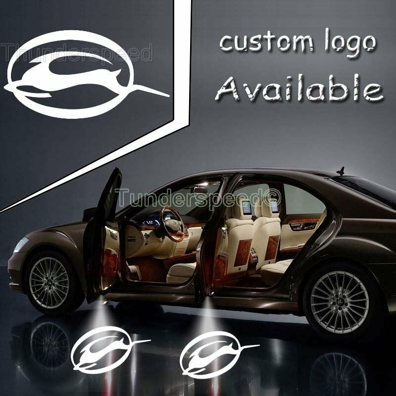 Led Car Door Logo Light Laser Projector Ghost Shadow For