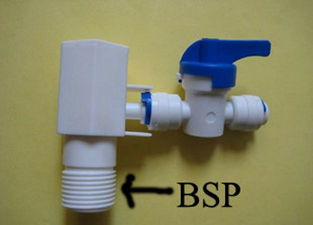"Plastic RO Feed-water Adapter Connection Kit 1/4"" Tube"