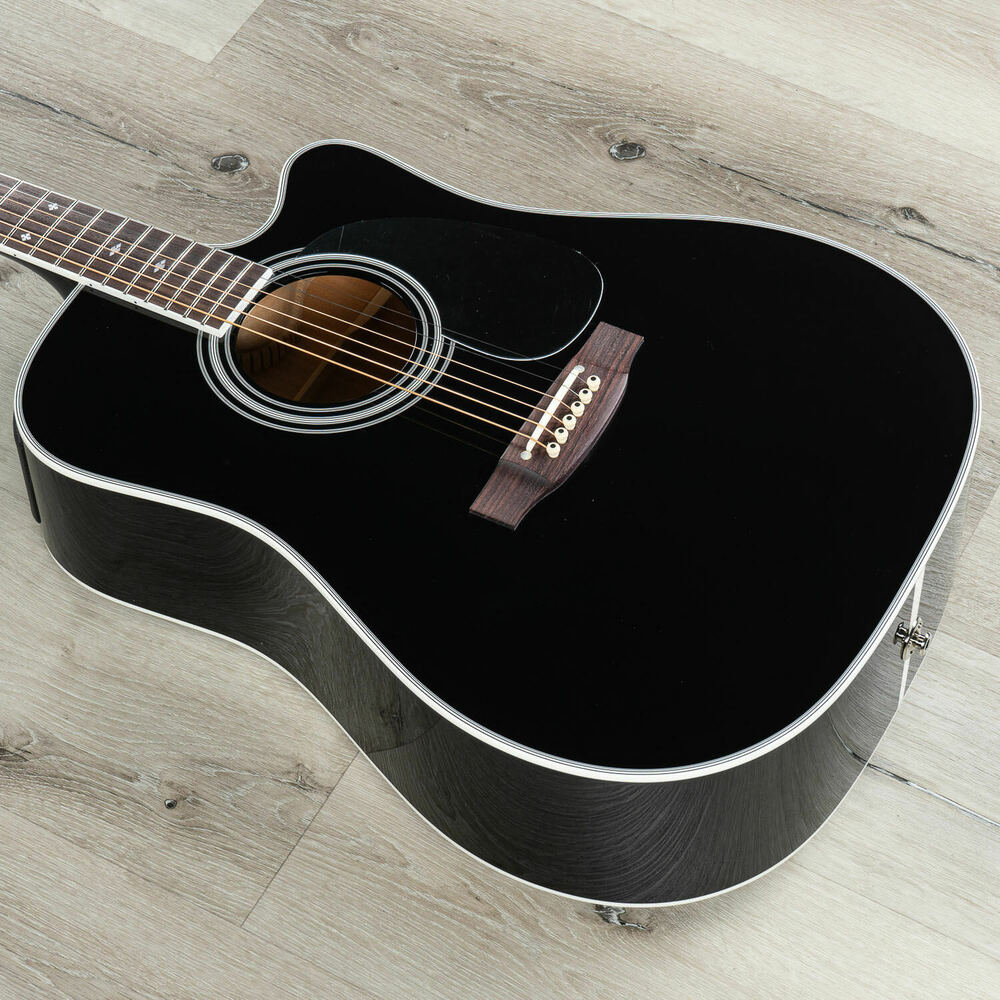 takamine ef341sc legacy series acoustic electric guitar w ct4b preamp case ebay. Black Bedroom Furniture Sets. Home Design Ideas