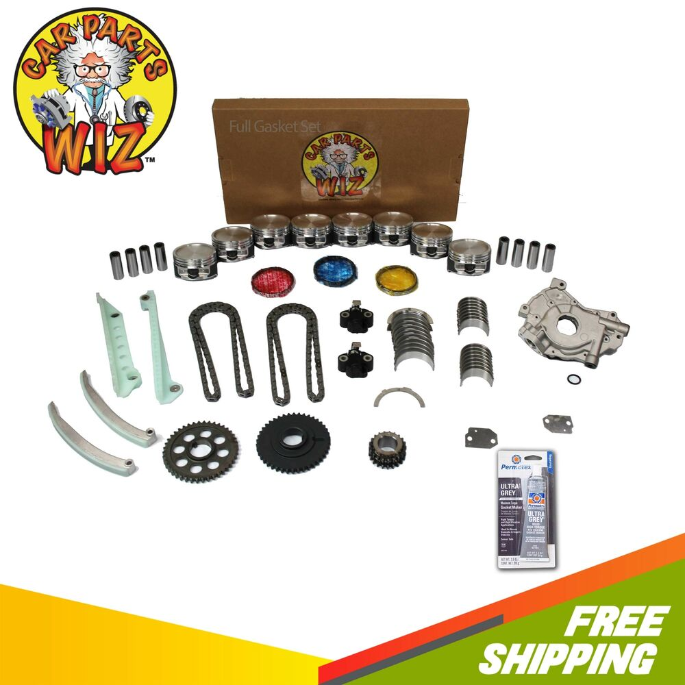 Ford F 150 2000 Remanufactured Complete: Engine Rebuild Kit Fits 01-02 Ford Expedition F150 E150 4
