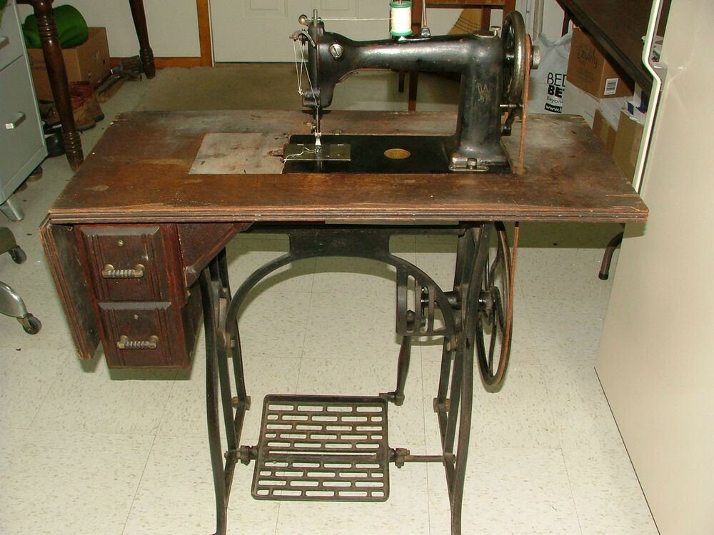wheeler and wilson sewing machine for sale